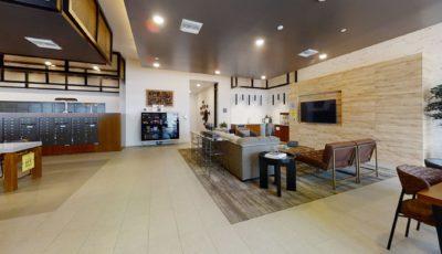 The Platform Lobby, Mailroom, Lounge 3D Model