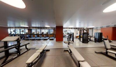 El Centro Apartments & Bungalows – Gym 3D Model